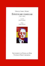 Serra i Moret, Manuel. Epistolari familiar (1901-1963)