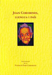Joan Coromines, llengua i país