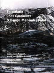 Epistolario Joan Coromines & Ramón Menéndez Pidal