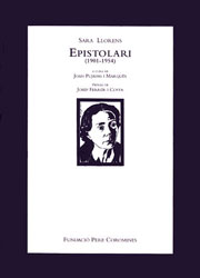 Llorens, Sara. Epistolari (1901-1954)