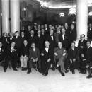 Homenatge a Pere Coromines en retornar d'Amèrica, 1931.