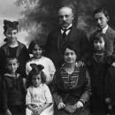 Família Coromines Vigneaux, maig 1919.