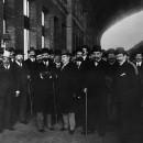 Pere Coromines i Francesc Cambó, Plebiscit d'Autonomia (?), c. 1917 o 1919.